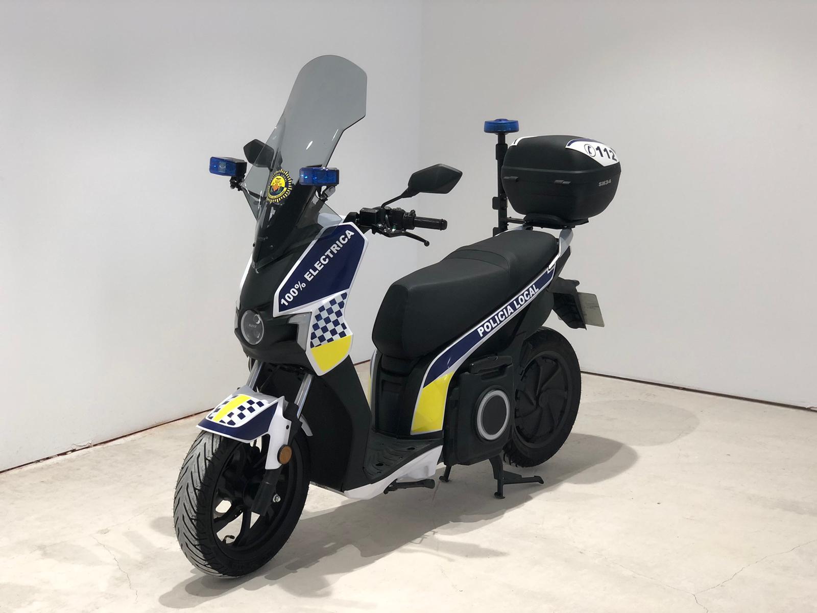 moto-electrica-Silence-S01-Policia